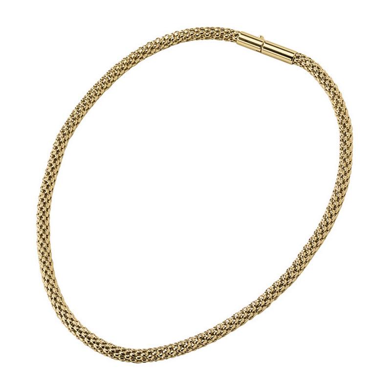 ROUNDER Halskette, vergoldet