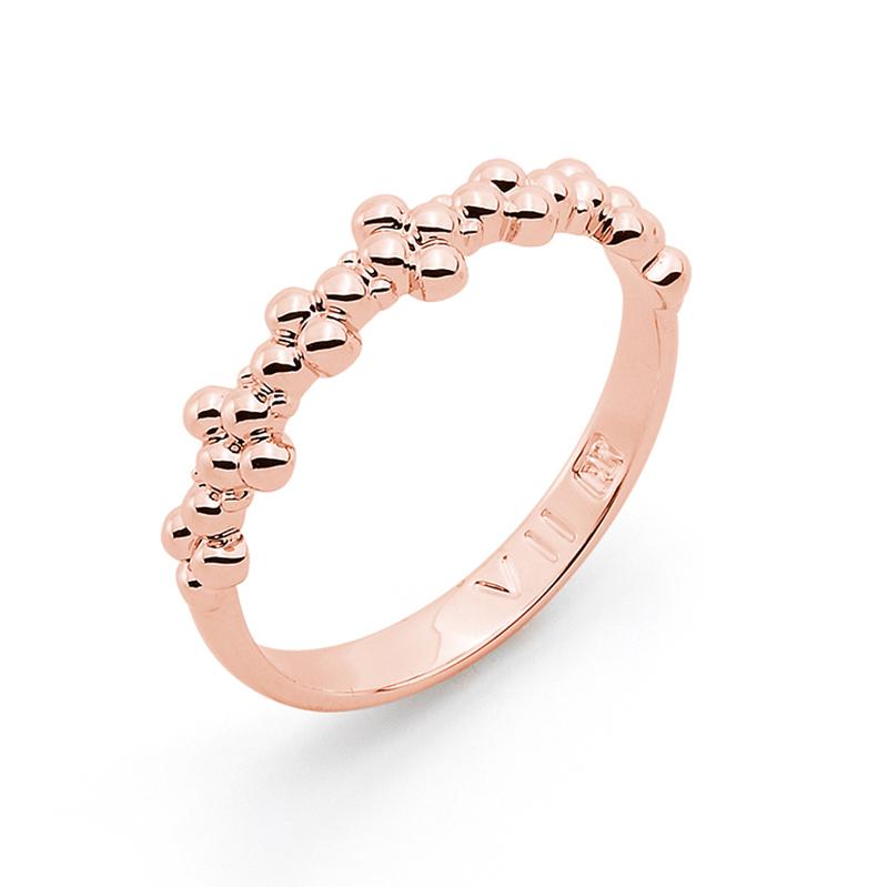 MIMOSA Ring, rosè vergoldet