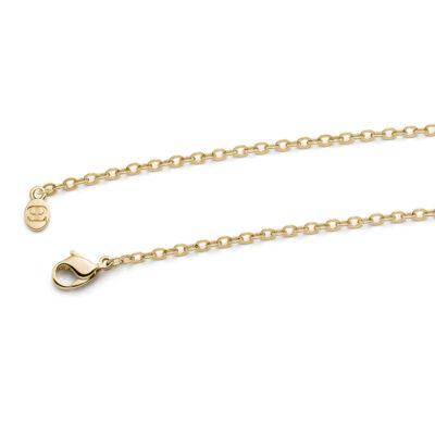 DAISY Halskette, vergoldet