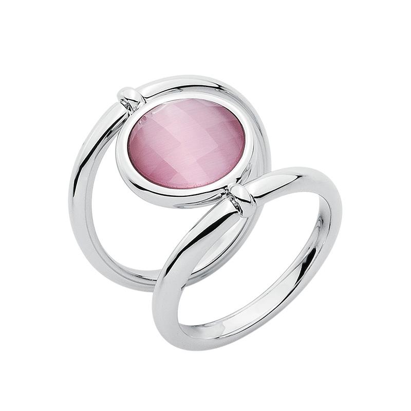 POWER & LOVE Ring, rhodiniert, rosé