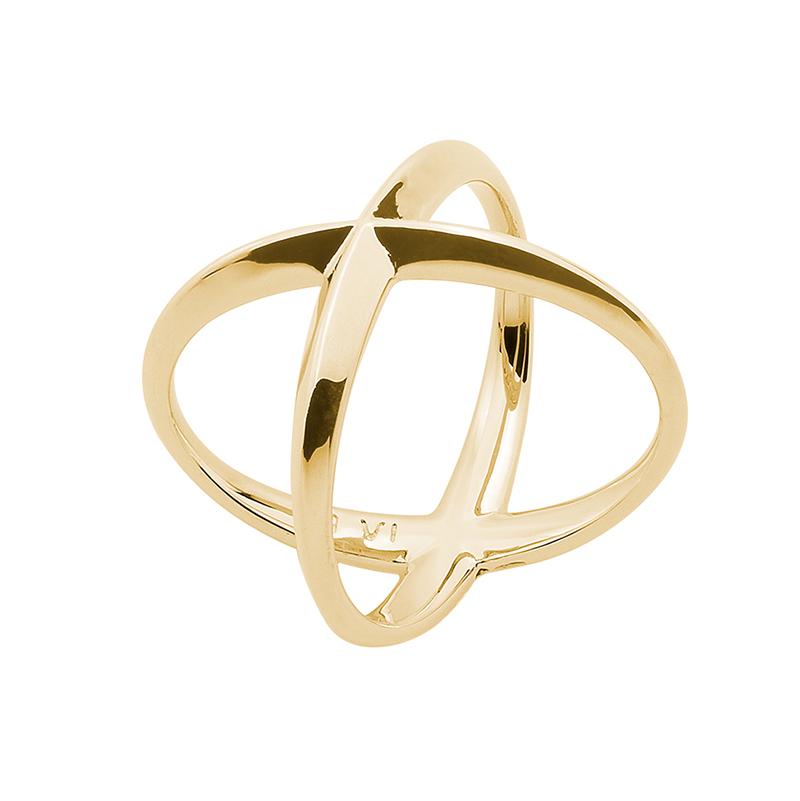A SKY FULL OF STARS Ring, vergoldet