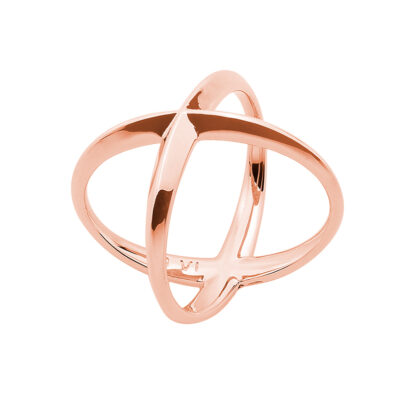 A SKY FULL OF STARS Ring, rosè vergoldet