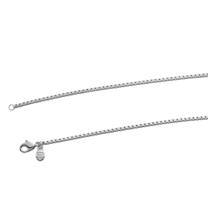 VENEZIA Halskette, Chanelkette, rutheniert