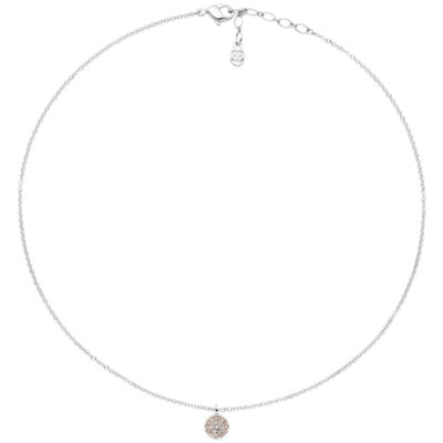 SAINT-TROPEZ Collier, rhodiniert, multicolor