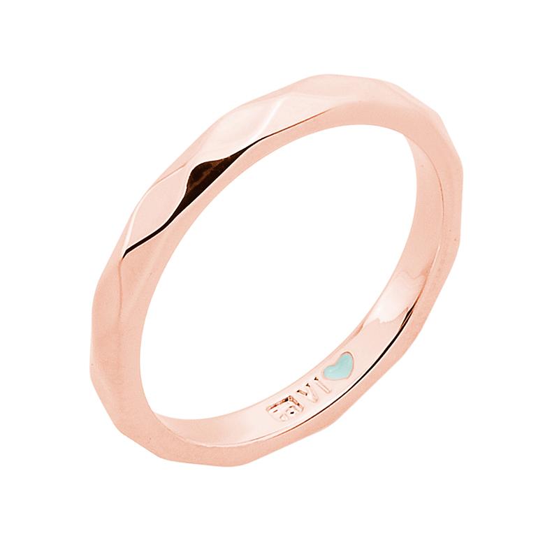 FROM MONDAY TO SUNDAY Ring, rosè vergoldet