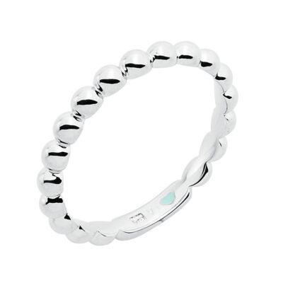 LA BOUM Ring, rhodiniert