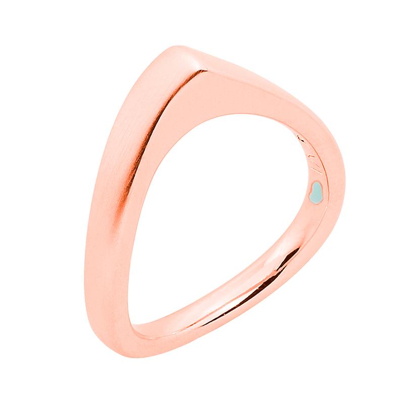 LAOLA  Ring, rosè vergoldet matt