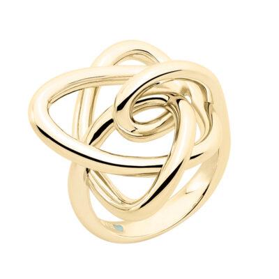 LUCKY UNIVERSE Ring, vergoldet