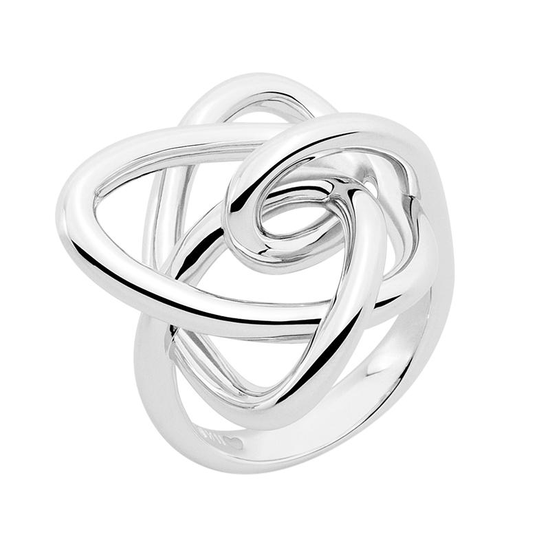LUCKY UNIVERSE Ring, rhodiniert