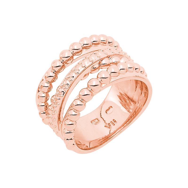 SFERA Ring, rosè vergoldet