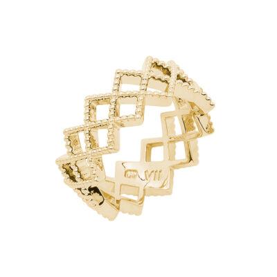 TOUJOURS Ring, vergoldet