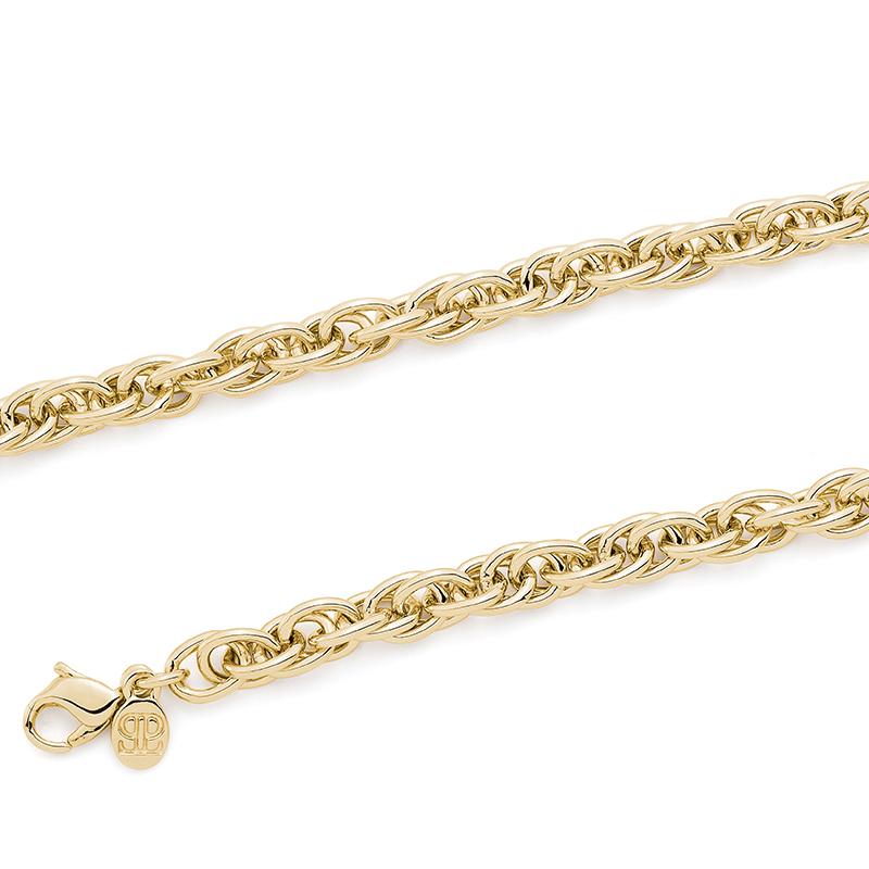FOUR-EVER Halskette, vergoldet