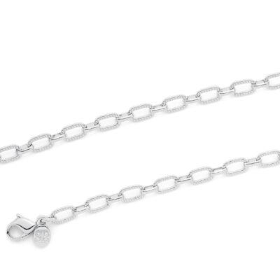LITTLE ANCONA Halskette, rhodiniert