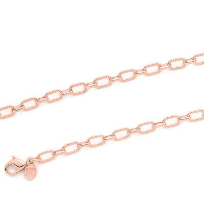 LITTLE ANCONA Halskette, rosè vergoldet