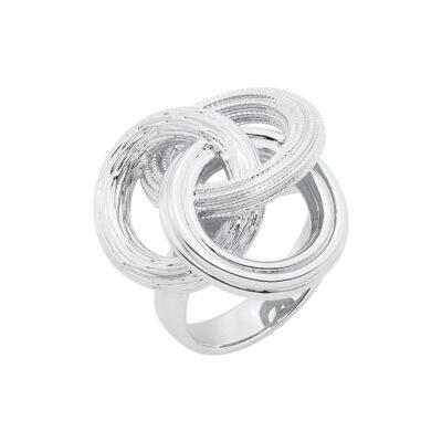 DREAMCATCHER Ring, rhodiniert