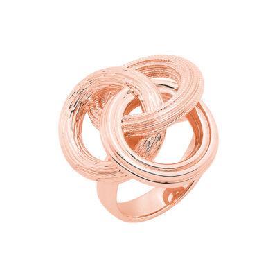 DREAMCATCHER Ring, rosè vergoldet