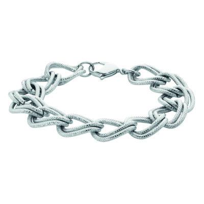 CATHERINE Armkette, rhodiniert