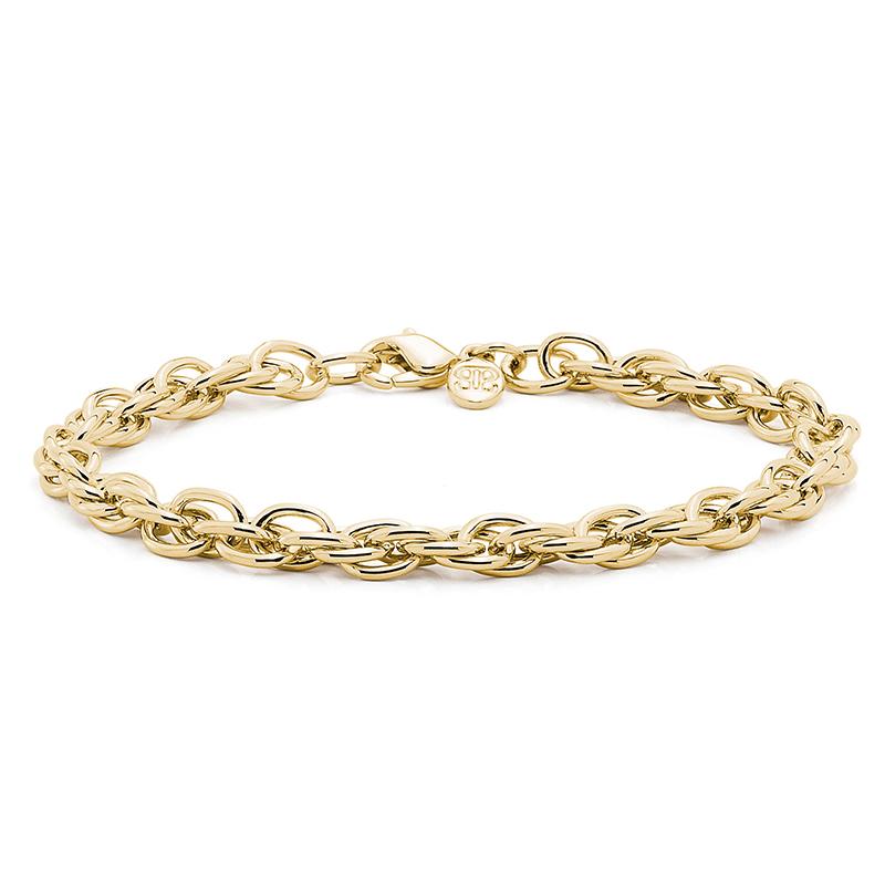 FOUR-EVER Armkette, vergoldet