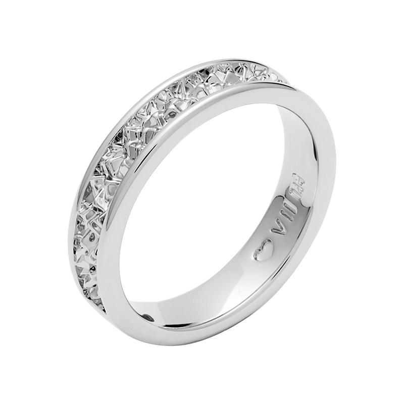 BELLE EPOQUE Ring, rhodiniert