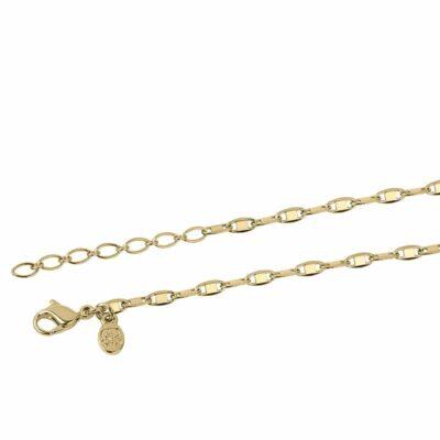 SHINY Halskette, vergoldet,