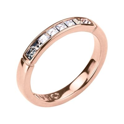 BREEZE Ring, rosè vergoldet, multicolor