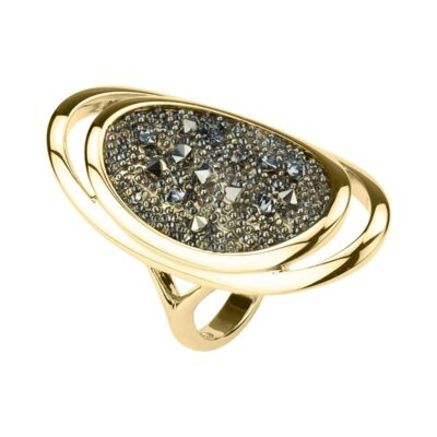 CHARMING HERITAGE Ring, vergoldet, metallic light gold