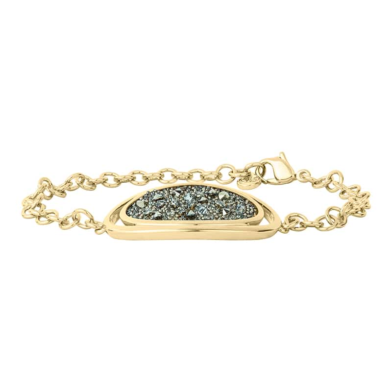 CHARMING HERITAGE Armband, vergoldet, metallic light gold