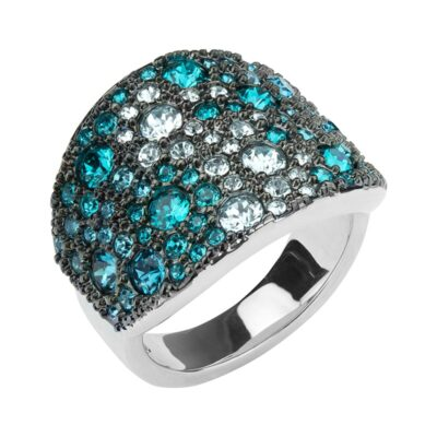 HARMONY Ring, rhodiniert, multicolor