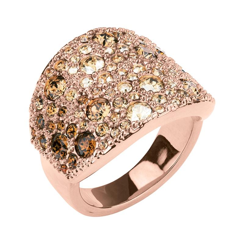 HARMONY Ring, rosè vergoldet, multicolor