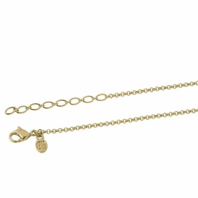 NEXUS Halskette, vergoldet,