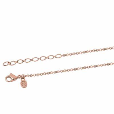 NEXUS Halskette, rosè vergoldet,