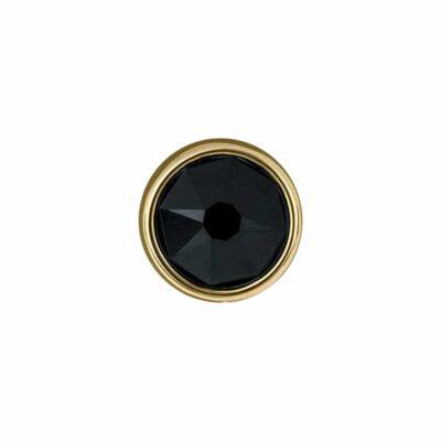 PRALINÉ Motiv, vergoldet, schwarz