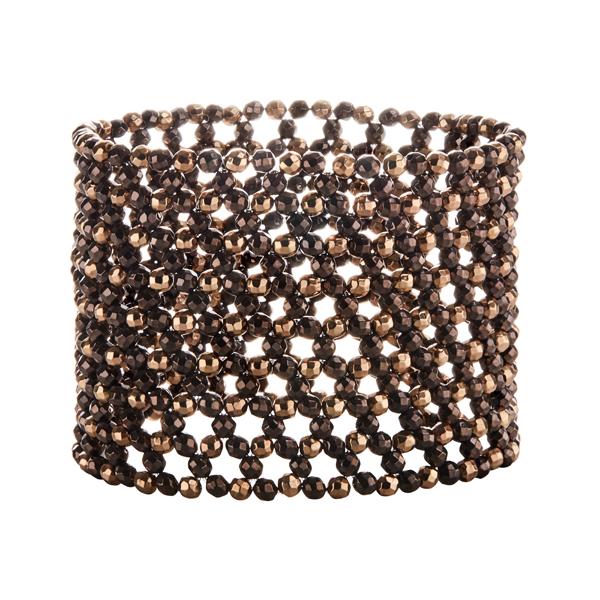 MANCHETTE MAGIQUE Armband, metallic braun