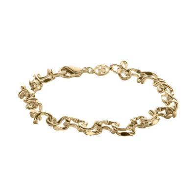 CRUSH Armband, vergoldet