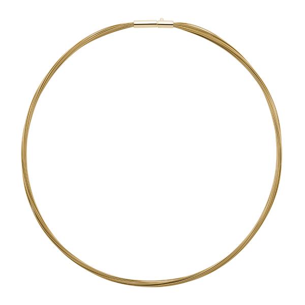 COLORE Halsreifen, vergoldet, gold farbig
